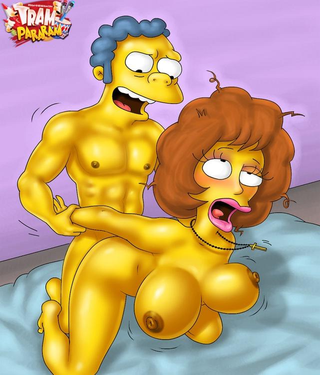 Simpsons porn tram, transvestite orgasm
