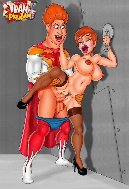 Porn cartoons from Tram Pararam adult gallery